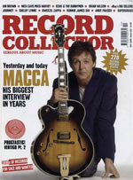 Record Collector October 2005 cover